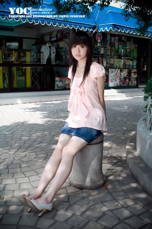 山东师范大学的美女清纯校花
