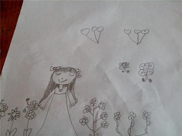 素描正面蝴蝶图片步骤